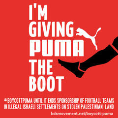 We're making Puma's CEO nervous. Join the Boycott Puma Day of Action, September 18