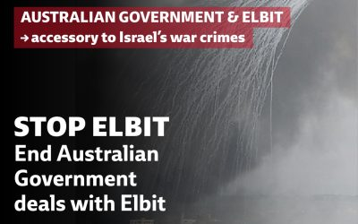 Australian government defense contracts with Israel exposed