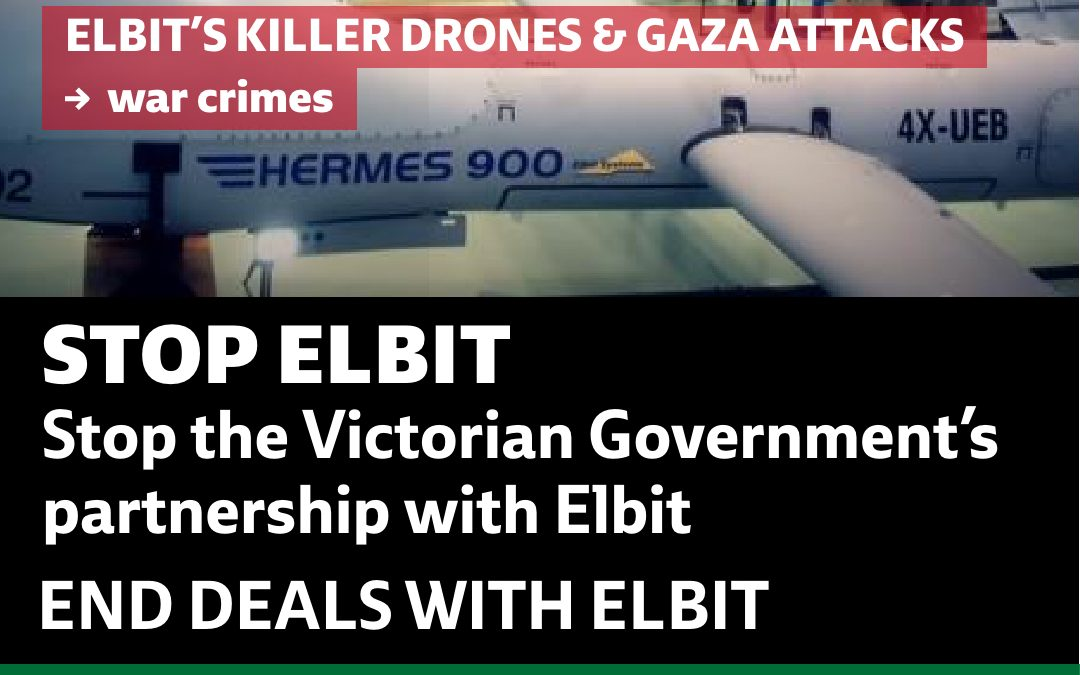 BDS Australia calls on Victorian Premier to end support for Elbit